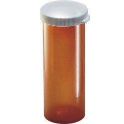 Prescription Vial Plastainer 60 Dram Amber 3221009 Case/65