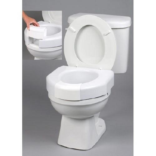 Raised Toilet Seat 3 Inch White 350 lbs. 725790001 Each/1