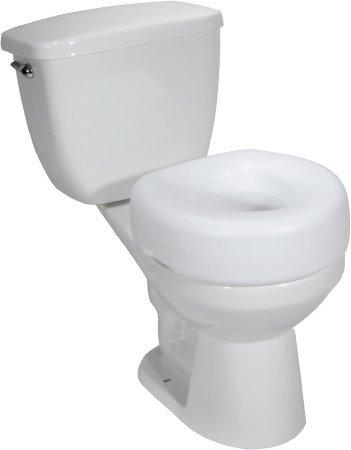 Raised Toilet Seat drive 4 Inch White 300 lbs. 12040-3 Each/1
