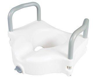 Raised Toilet Seat with Arms Classics 4.5 Inch White 300 lbs. FGB31877 0000 Each/1