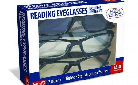 Reading Eyeglasses North American Health & Wellness Reading and Sunreading JB7366-3.0 Each/1