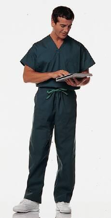 Scrub Shirt Synergy Small Ceil Blue 1 Pocket Set-In Sleeves Unisex 46856-113 Each/1