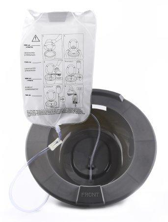 Sitz Bath McKesson Round Graphite Plastic 56-80102 Each/1