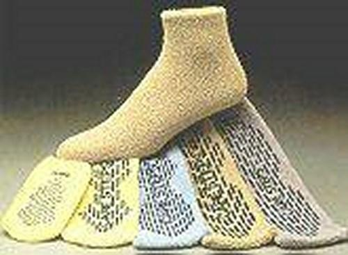 Slipper Socks Care-Steps¨ Adult Large Tan Above the Ankle 80104 Pair/1