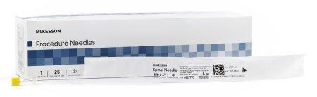 Spinal Needle McKesson Quincke 20 Gauge 6 Inch 4627V2 Box/25