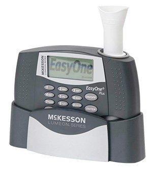 Spirometer Kit McKesson LUMEON Digital Reusable Card / Disposable Mouthpiece 785P Each/1