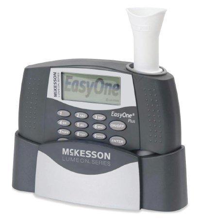 Spirometer Kit McKesson LUMEON Digital Reusable Card / Disposable Mouthpiece 786 Each/1