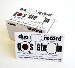 Sterilization Record Card Duo-Record Steam / EO Gas 26905100 Box/1000