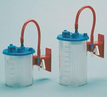 Suction Canister Liner Medi-Vac Flex Advantage 1500 mL Shut-Off Valve 65651-920C Each/1