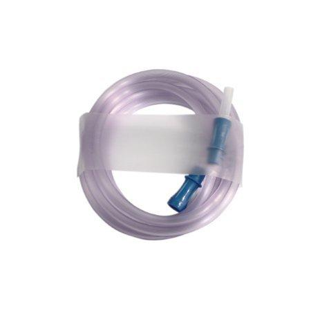 Suction Connector Tubing 6 Foot Length 3/16 Inch ID Sterile Straw Connector 4682 Case/50