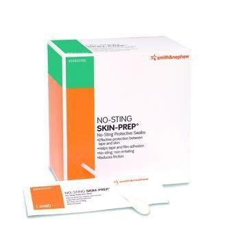 Swab No-Sting Skin-Prep Hexamethyldisiloxane, Acrylate Copolymer Individual Packet 3.0 mL Sterile 59420700 Box/50