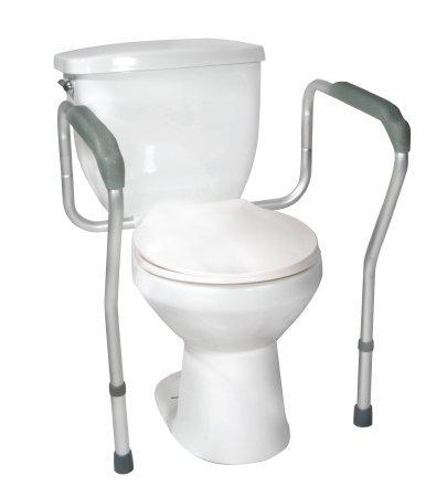 Toilet Safety Frame Anodized Aluminum 12001-4 Case/4 - 20143509