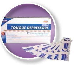 Tongue Depressor Dukal Senior / 6 Inch 9004 Box/100