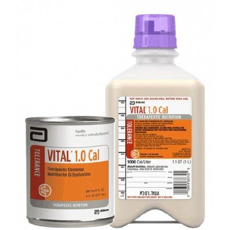 Tube Feeding Formula Vital High Protein 1000 mL RTH Container Ready to Hang Adults and Children over 4 Years 63081 Each/1