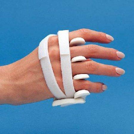 Ulnar Deviation Splint LMB Soft Core Wire-Foam Wire / Foam Left Hand White Size C 77990202 Each/1
