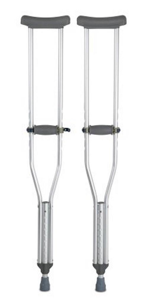 Underarm Crutch McKesson Aluminum Adult 300 lbs. 146-10430-8 Case/8