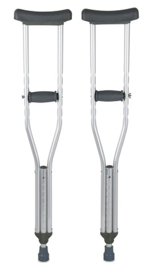 Underarm Crutch McKesson Aluminum Child 350 lbs. 146-10401-8 Pair/1