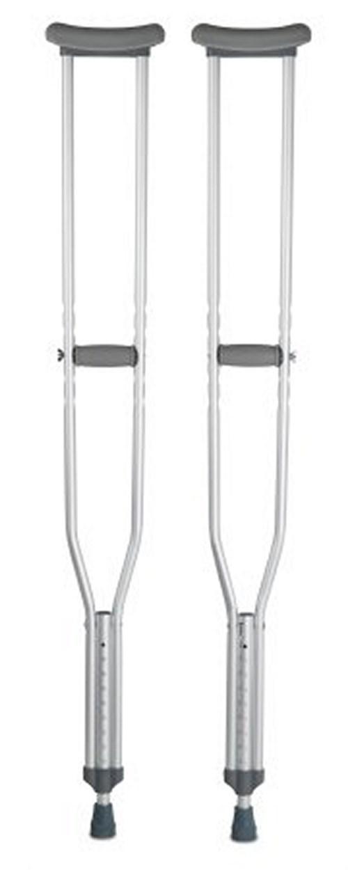 Underarm Crutch McKesson Aluminum Tall 350 lbs. 146-10402-8 Case/8