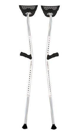 Underarm Crutch Mobilegs Ultra Aluminum Adult 300 lbs. 84-77-22-2016 Pair/1