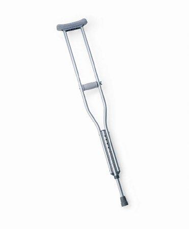 Underarm Crutch Push Button Aluminum Adult Tall 300 lbs. MDS80534HW Case/2