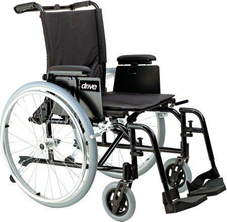 Wheelchair Cougar Ultra Lightweight Padded Removable T Style Desk Arm Mag Black 18 Inch 250 lbs. AK518ADA-ASF Each/1 - 24884209