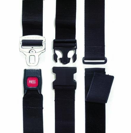 Wheelchair Safety Belt One Size Fits Most D-Ring / Hook and Loop Closure 580-VC Each/1