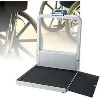 Wheelchair Scale Digital, LCD 1000 X 0.1 lbs. 6 AA Battery or AC Adapter DS9100 Each/1