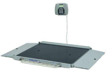 Wheelchair Scale ProPlus 3/4 Inch LCD Display 1000 Lbs 6 D-cell Batteries 2700KL Each/1