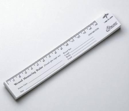 Wound Measuring Ruler Educare Paper MSCEDURULER PD/25