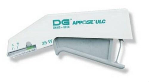 Wound Stapler Apposeª UCL Squeeze Handle Stainless Steel Staples 35 Wide Staples 8886803712 Box/12