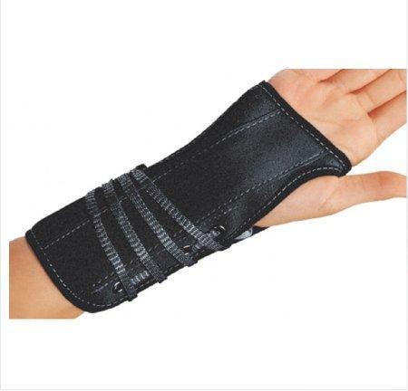 Wrist Splint Cinch-Lock Suede / Flannel Left Hand Black Small 79-87213 Each/1