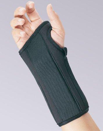 Wrist Splint PROLITE Contoured Foam Right Hand Black Large 22-450LGBLK Each/1